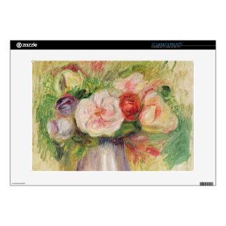 Vase of Flowers (oil on canvas) Laptop Skins