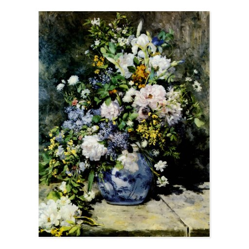 Vase of Flowers Post Cards
