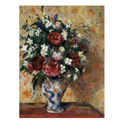 Vase of Flowers Postcard
