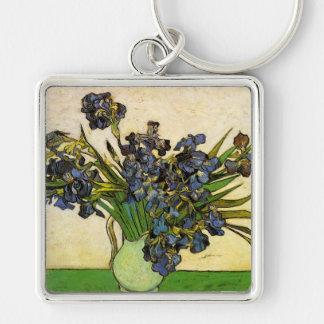 Vase of Irises, Van Gogh Keychain