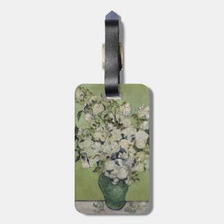 Vase of Roses by Vincent Van Gogh Tag For Bags