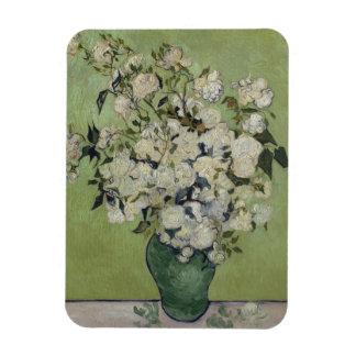 Vase of Roses by Vincent Van Gogh Magnet