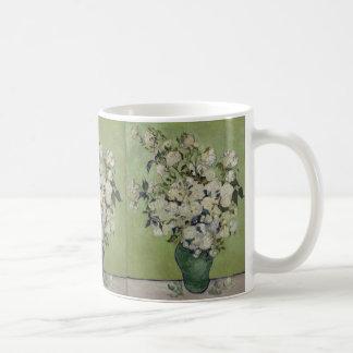 Vase of Roses by Vincent Van Gogh Coffee Mugs