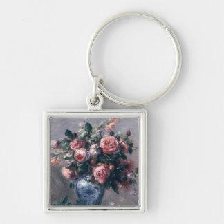Vase of Roses Keychain