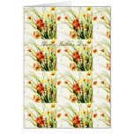 Vase of Spring Flowers Happy Mother's Day Card