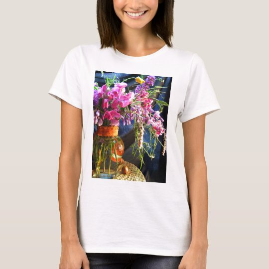 Vase of Wild Blossoms T-Shirt