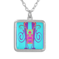 """VASE OF WISDOM"" ART DECO NECKLACE"