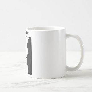 Vase Or Faces? (Optical Illusion) Coffee Mug