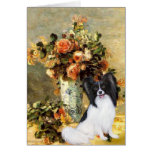 Vase - Papillon 1 Greeting Cards