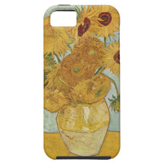 Vase with 12 Sunflowers iPhone 5 case