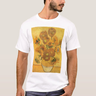 Vase with 15 Sunflowers by Vincent van Gogh T-Shirt