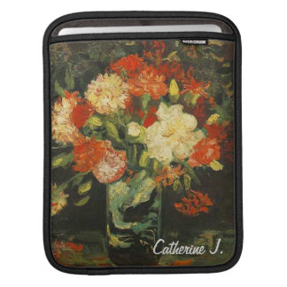 Vase with carnations,Vincent van Gogh iPad Sleeve