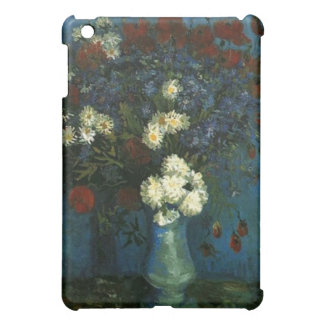 vase with cornflowers and poppies, van Gogh Case For The iPad Mini