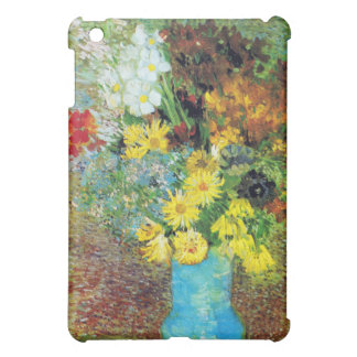 Vase with Daisies and Anemones by Van Gogh Cover For The iPad Mini