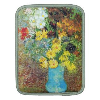 Vase with Daisies and Anemones by Van Gogh iPad Sleeve