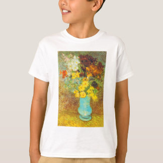 Vase with Daisies and Anemones Print T-Shirt
