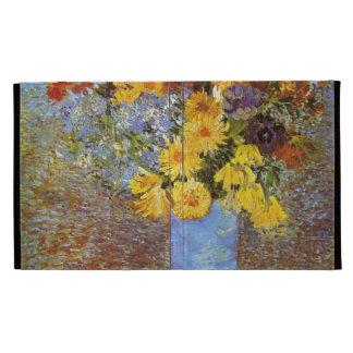 Vase with daisies and anemones - Van Gogh iPad Folio Covers