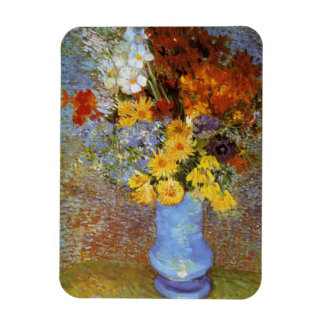Vase with daisies and anemones - Van Gogh Magnet