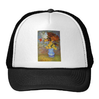 Vase with daisies and anemones - Van Gogh Trucker Hat