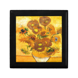 Vase with Fifteen Sunflowers by Vincent van Gogh Gift Box