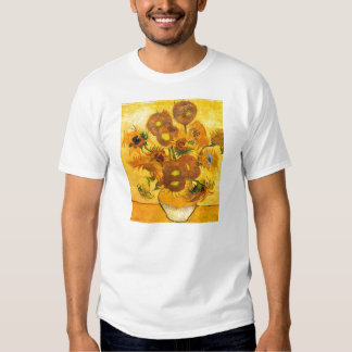 Vase with Fifteen Sunflowers by Vincent van Gogh Tee Shirt