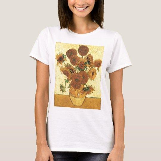 Vase with fifteen sunflowers,Vincent van Gogh T-Shirt