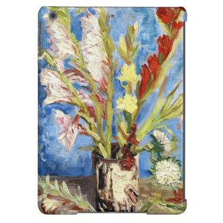 Vase with Gladioli and China Asters van gogh iPad Air Covers