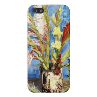 Vase with Gladioli and China Asters van gogh iPhone 5 Case