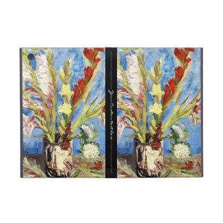 Vase with Gladioli and China Asters van gogh vinc iPad Mini Covers