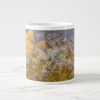 Vase with Lilacs and Daisies by Vincent van Gogh Giant Coffee Mug