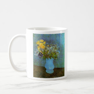 Vase with Lilacs Daisies and Anemones by Van Gogh Coffee Mug