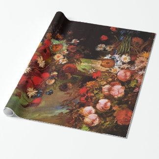 Vase with Poppies, Cornflowers, Peonies..Van Gogh Gift Wrap