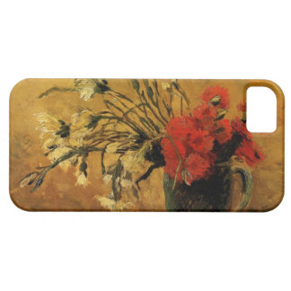 vase with red and white carnations, van Gogh iPhone SE/5/5s Case