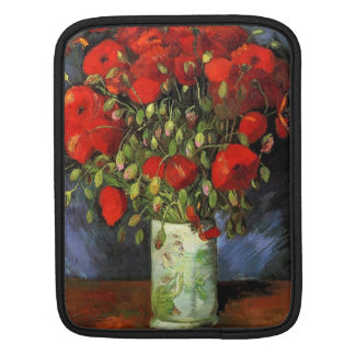 Vase with Red`Poppies, Vincent van Gogh Sleeve For iPads