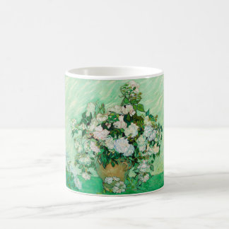 Vase with Roses by Vincent Van Gogh Coffee Mugs