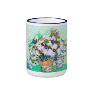 Vase with Roses by Vincent Van Gogh Mugs