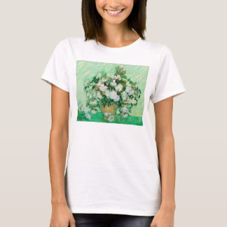 Vase with Roses by Vincent Van Gogh T-Shirt