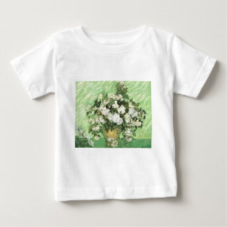 Vase with Roses - Van Gogh Baby T-Shirt