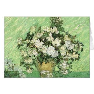 Vase with Roses - Van Gogh Card