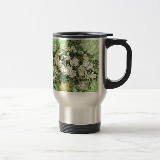 Vase with Roses - Van Gogh Coffee Mugs