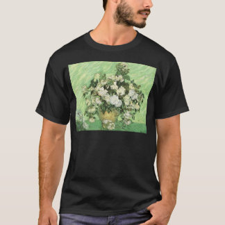 Vase with Roses - Van Gogh T-Shirt