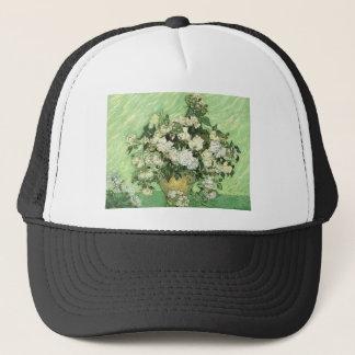 Vase with Roses - Van Gogh Trucker Hat
