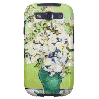 Vase with Roses Vincent Van Gogh painting Samsung Galaxy SIII Cases