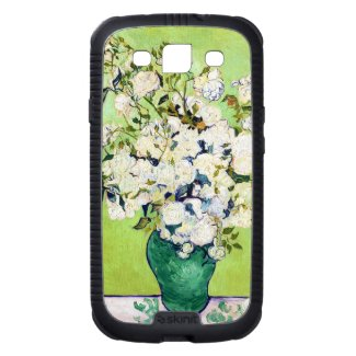 Vase with Roses Vincent Van Gogh painting Samsung Galaxy SIII Cover