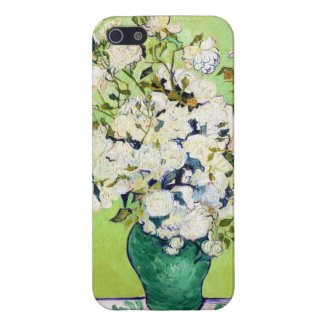 Vase with Roses Vincent Van Gogh painting iPhone 5 Cover