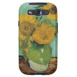 Vase with three sunflowers, Vincent van Gogh Galaxy SIII Case