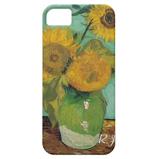 Vase with three sunflowers, Vincent van Gogh iPhone SE/5/5s Case