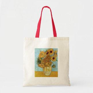 Vase with Twelve Sunflowers by Van Gogh Tote Bag