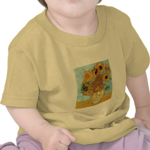 Vase with Twelve Sunflowers by Van Gogh T Shirt