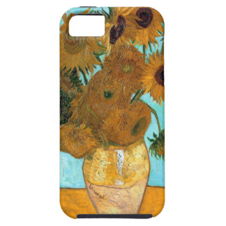 Vase with Twelve Sunflowers by Vincent van Gogh iPhone SE/5/5s Case